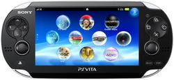 The console image for PlayStation Vita.