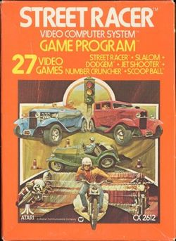 Box artwork for Street Racer.