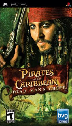 Box artwork for Pirates of the Caribbean: Dead Man's Chest.
