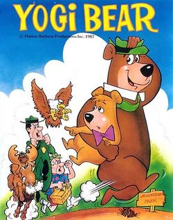 Box artwork for Yogi Bear.
