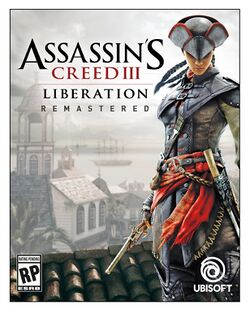 Box artwork for Assassin's Creed III: Liberation Remastered.