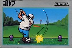Box artwork for Golf.