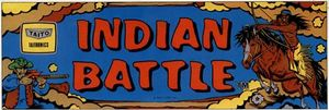 Indian Battle marquee
