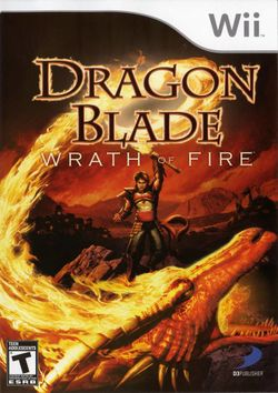 Box artwork for Dragon Blade: Wrath of Fire.