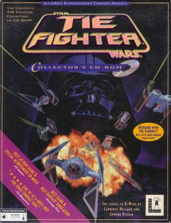 Box artwork for Star Wars: TIE Fighter - Enemies of the Empire.