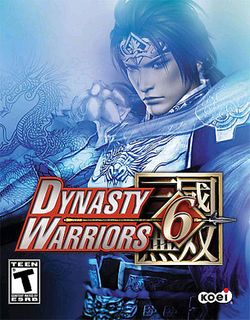 Box artwork for Dynasty Warriors 6.