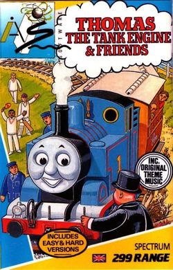 Box artwork for Thomas the Tank Engine and Friends.