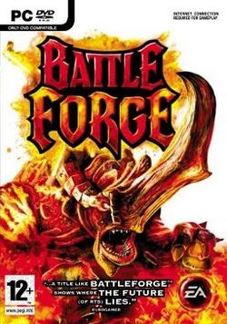 Box artwork for BattleForge.