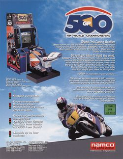 Box artwork for 500 GP.