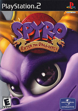 Box artwork for Spyro: Enter the Dragonfly.