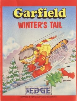 Box artwork for Garfield: A Winter's Tail.