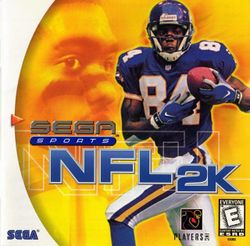 Box artwork for NFL 2K.