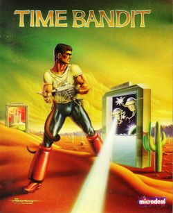 Box artwork for Time Bandit.