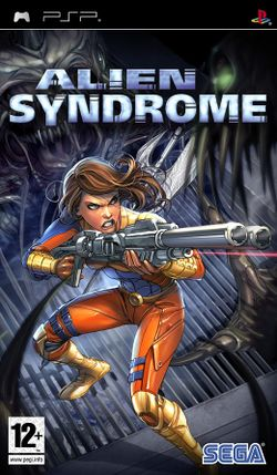 Box artwork for Alien Syndrome.