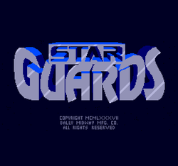 Box artwork for Star Guards.