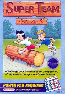Box artwork for Super Team Games.