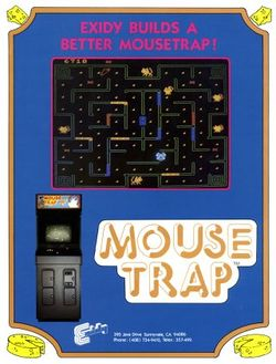 Box artwork for Mouse Trap.