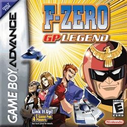 Box artwork for F-Zero: GP Legend.