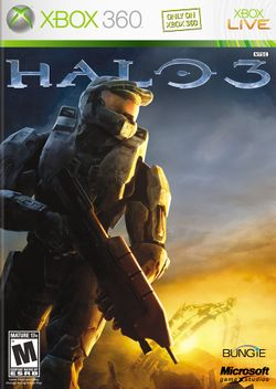Box artwork for Halo 3.