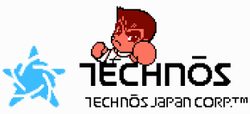 Technos Japan's company logo.