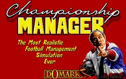 The logo for Championship Manager.