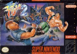 Box artwork for Final Fight 2.