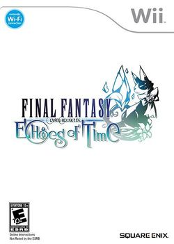 Box artwork for Final Fantasy Crystal Chronicles: Echoes of Time.