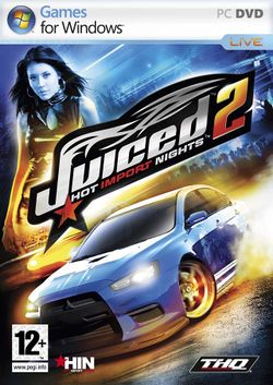 Box artwork for Juiced 2: Hot Import Nights.