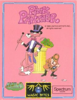 Box artwork for Pink Panther.