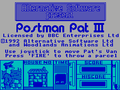 Postman Pat 3 To the Rescue title screen (ZX Spectrum).png