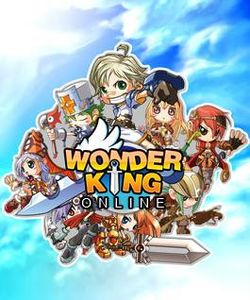 Box artwork for WonderKing Online.