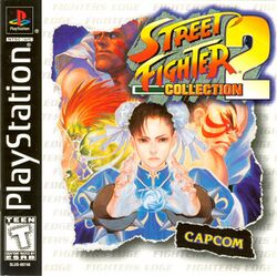 Box artwork for Street Fighter Collection 2.