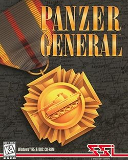 Box artwork for Panzer General.