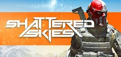 Box artwork for Shattered Skies.