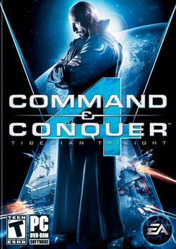 Box artwork for Command & Conquer 4: Tiberian Twilight.