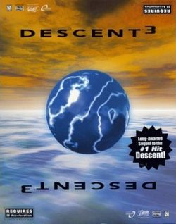 Box artwork for Descent 3.