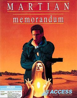 Box artwork for Martian Memorandum.
