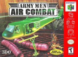 Box artwork for Army Men: Air Combat.