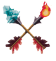 LOZWW Fire and Ice Arrows.png