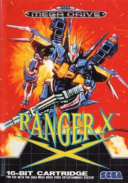 Box artwork for Ranger X.
