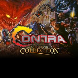 Box artwork for Contra Anniversary Collection.