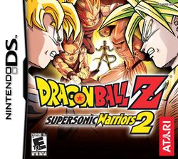 Box artwork for Dragon Ball Z: Supersonic Warriors 2.