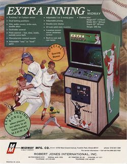 Box artwork for Extra Inning.