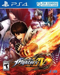 Box artwork for The King of Fighters XIV.