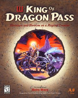 Box artwork for King of Dragon Pass.