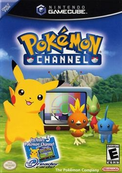 Box artwork for Pokémon Channel.