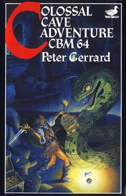 Box artwork for Colossal Cave Adventure.