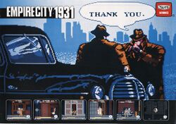 Box artwork for Empire City 1931.
