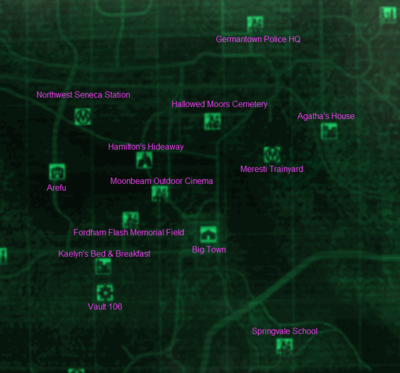 Fallout 3/Zone 5 Central Plains and Potomac — StrategyWiki, the ...