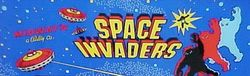 The logo for Space Invaders.